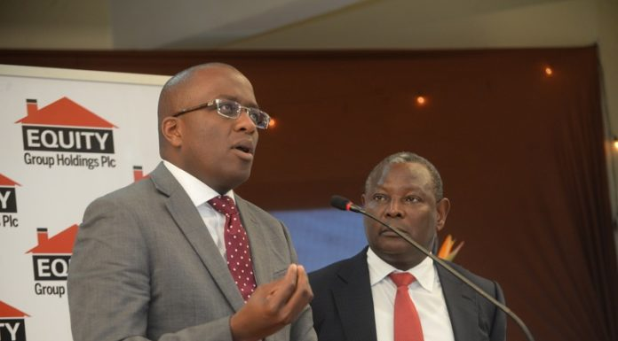 Equity Bank's Poly Carp Igathe & James Mwangi