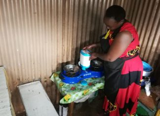 Nairobi Slum Food Vendor