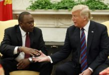 Donald Trump and Uhuru