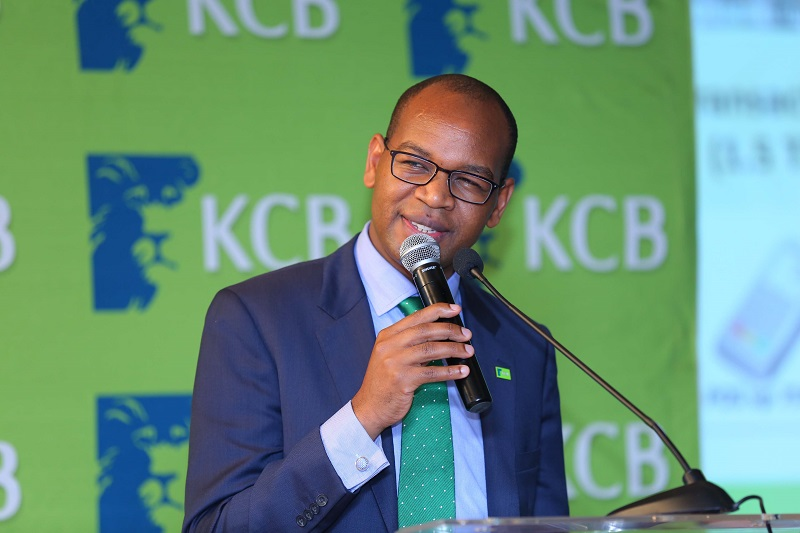 KCB Group CEO Mr. Joshua Oigara