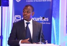 Stanbic Bank Kenya Chief Finance Officer Abraham Ongenge