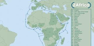 2Africa undersea cable project